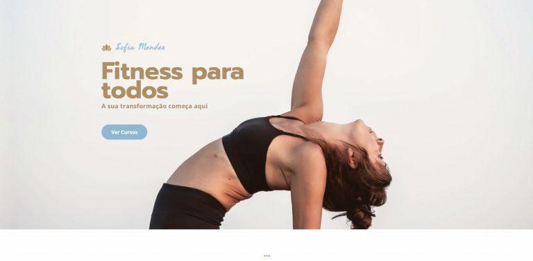 Instrutora de Fitness